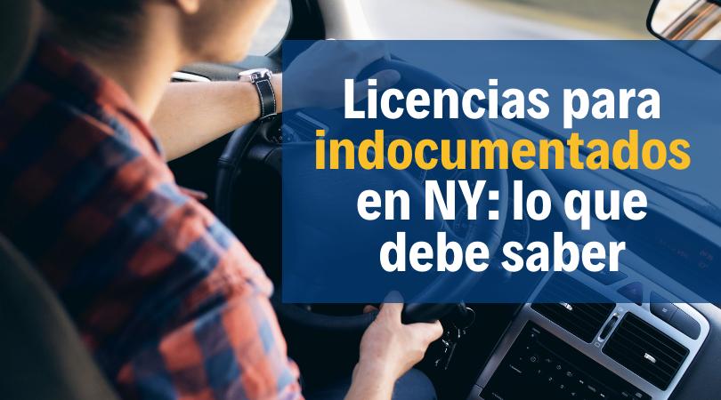 licencia de conducción para inmigrantes en NY