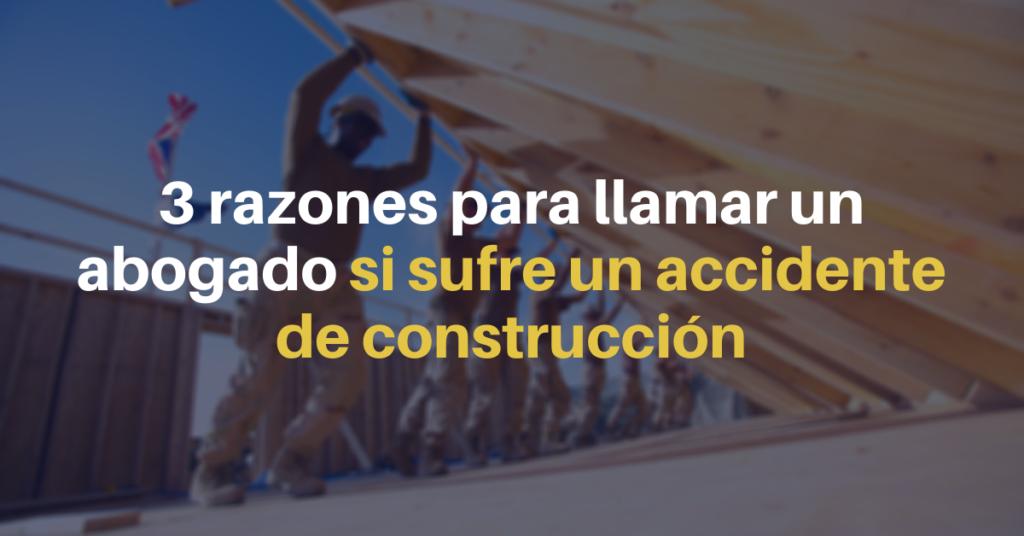 Abogados de accidente de construcción en Nueva York