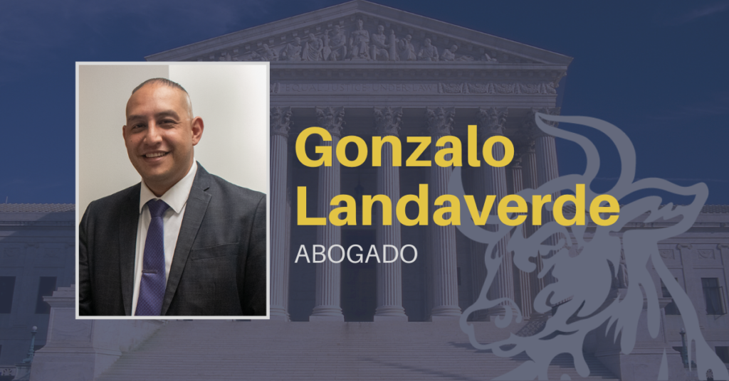 Gonzalo Landaverde, abogado de lesiones personales NYC