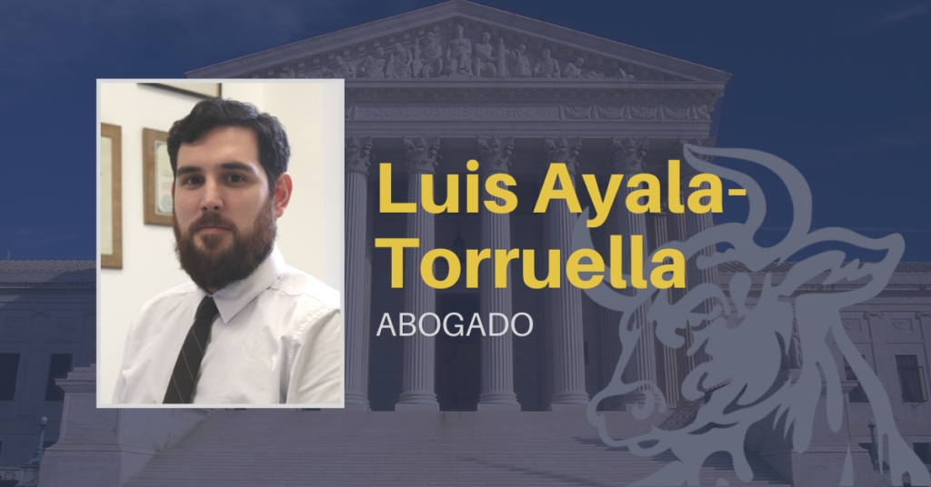 Luis Ayala-Torruella, abogado de accidentes en new york