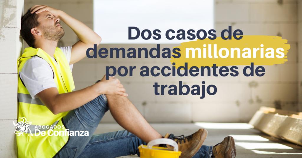 Dos casos de demandas millonarias por accidentes de trabajo en Nueva York